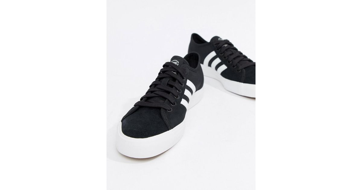 adidas originali matchcourt rx formatori in nero by3201 in nero