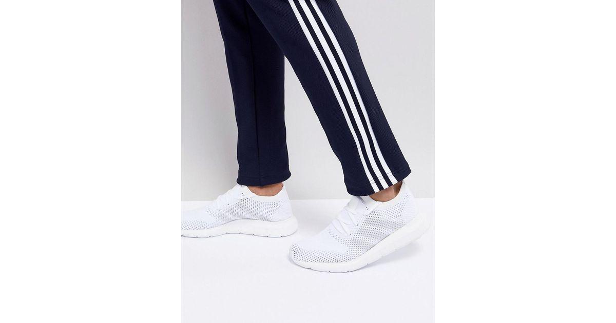 97bdbecd0 Lyst - adidas Originals Swift Run Primeknit Trainers In White Cq2892 in  White for Men