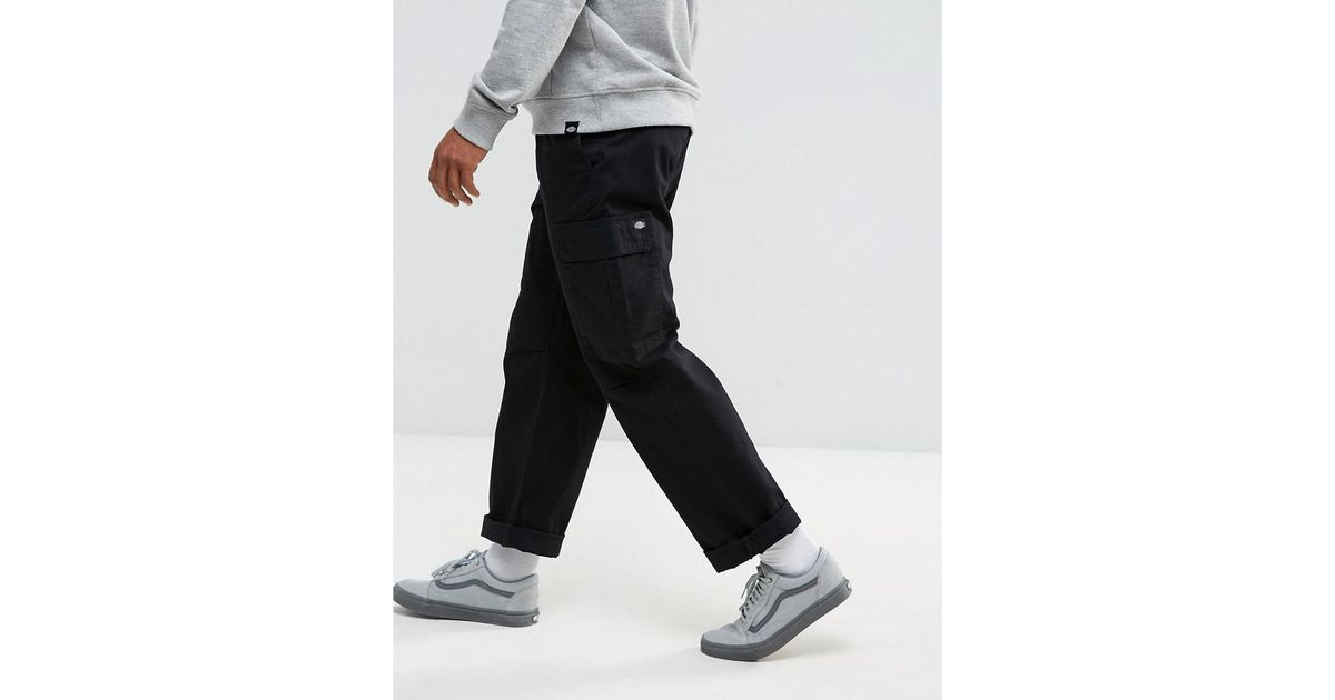 great varieties fast delivery popular style Dickies Higden Cargo Trousers In Black for men