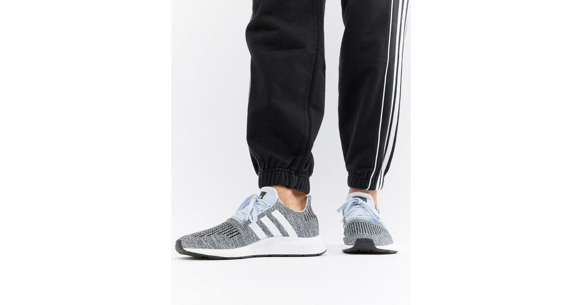 a883dbb6b adidas originals swift run sneakers Lyst - adidas Originals Swift Run  Sneakers In Gray Cq2122 in Blue .
