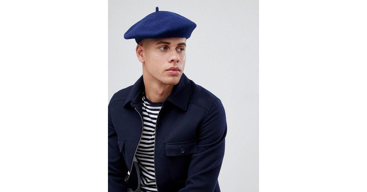 9daeca7d15b55 Lyst - Goorin Bros Budsky Beret in Blue for Men