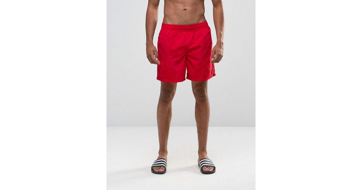 37ef0645f3 Polo Ralph Lauren Hawaiian Swim Shorts in Red for Men - Lyst