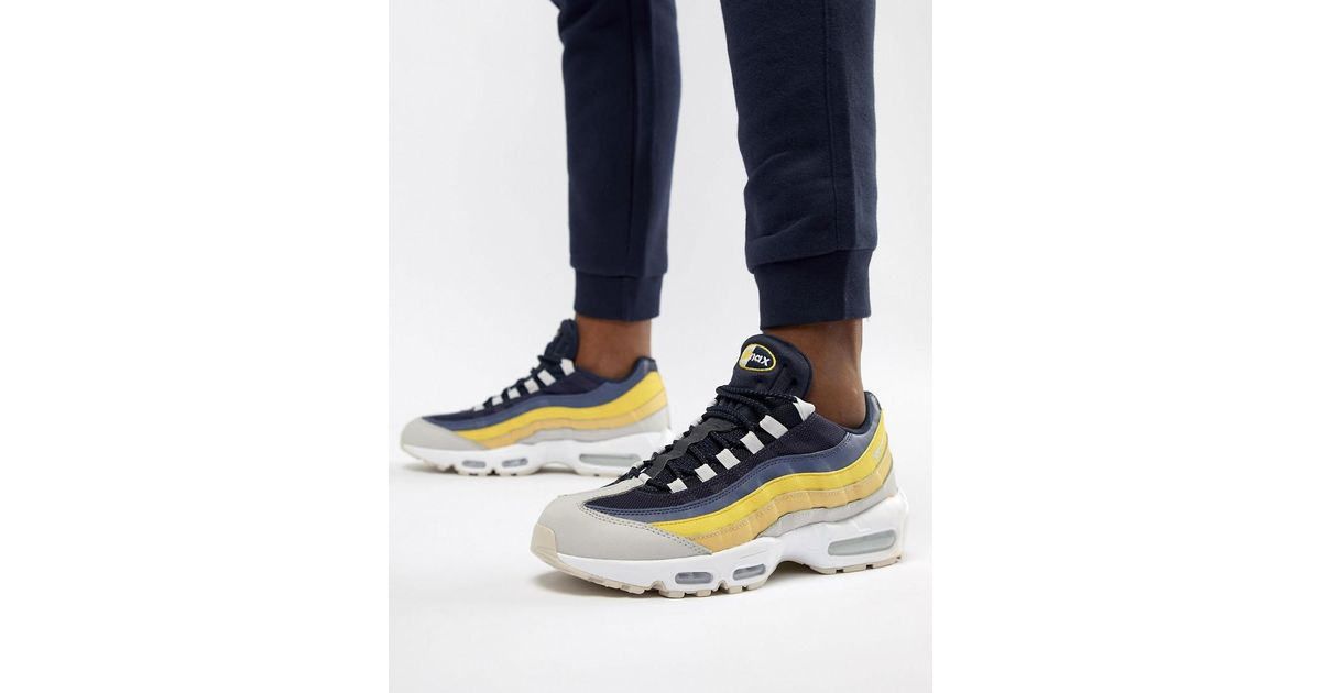 meet 90095 7a742 Lyst - Air Max 95 Essential Nike pour homme en coloris Blanc