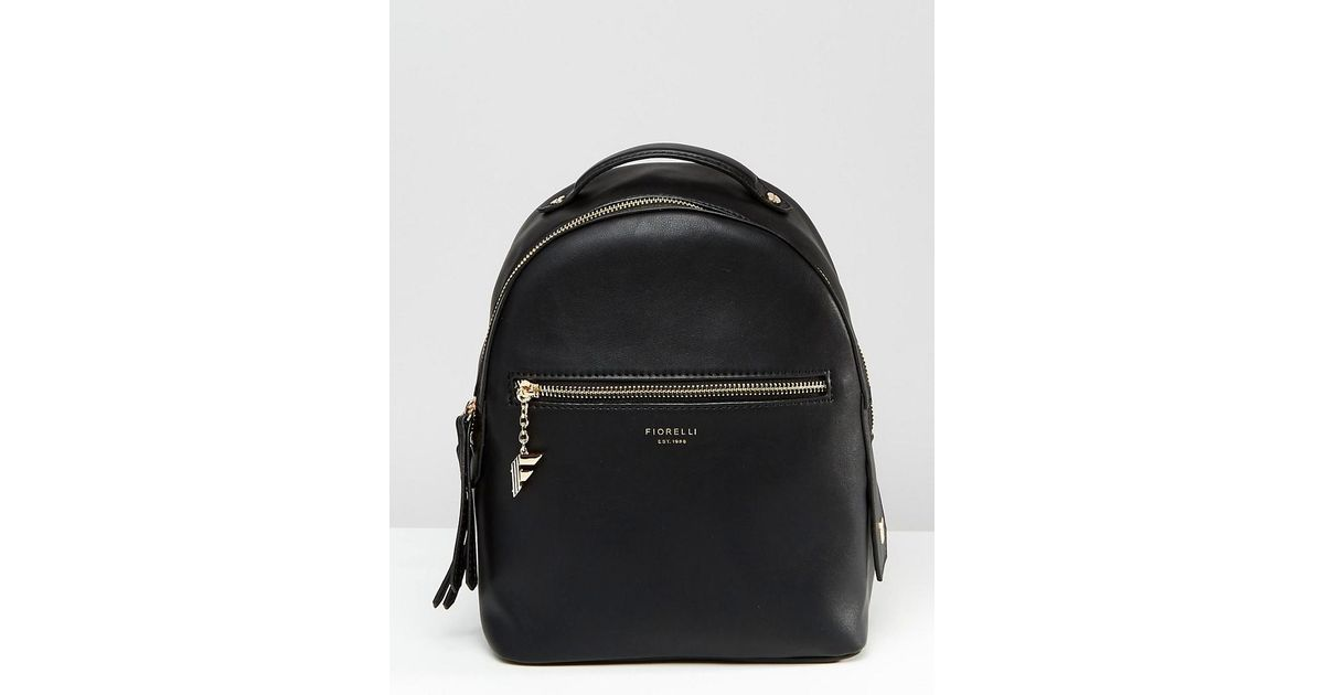 Fiorelli Anouk Clean Mini Backpack With Zip Pocket Detail - Anouk Black in  Black - Lyst
