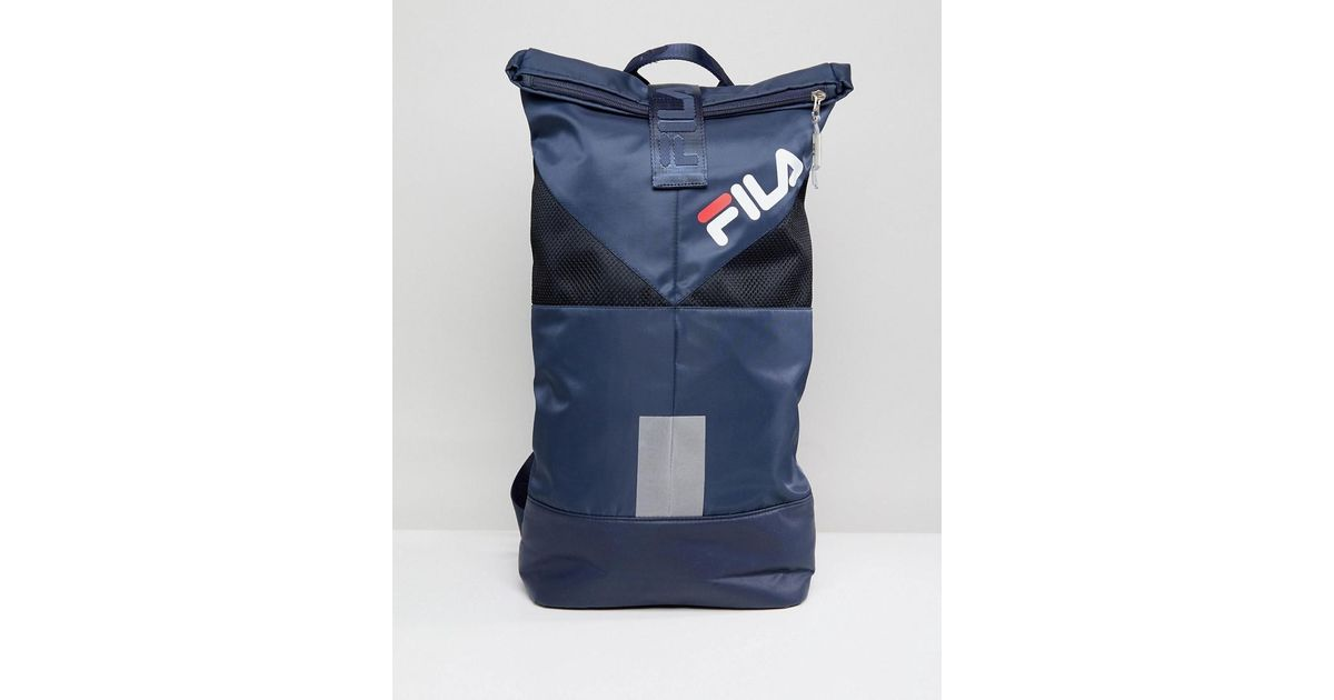 Lyst - Fila Salter Backpack In Navy in Blue for Men