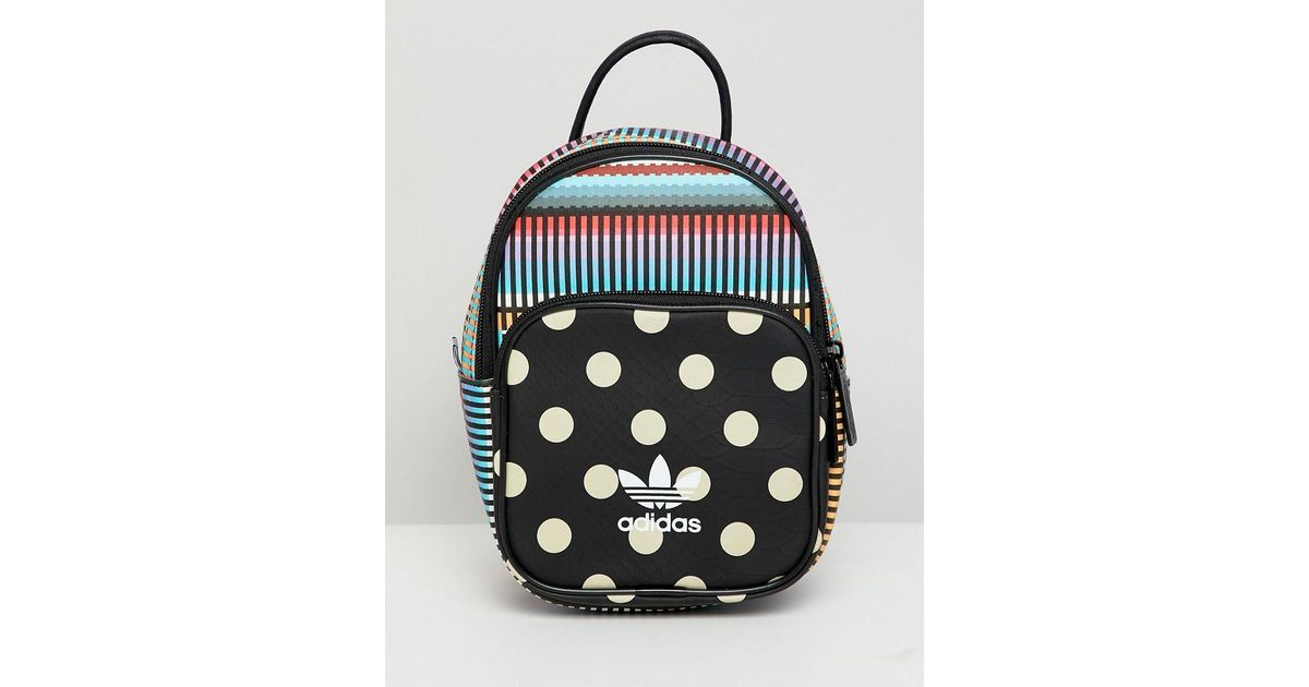 263bfe1cc596 Lyst - adidas Originals X Farm Printed Mini Backpack