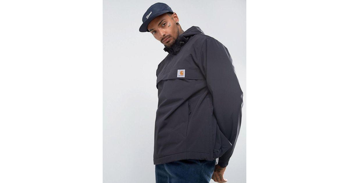 bd298c00c7e17 Carhartt WIP Nimbus Overhead Jacket In Black in Black for Men - Lyst