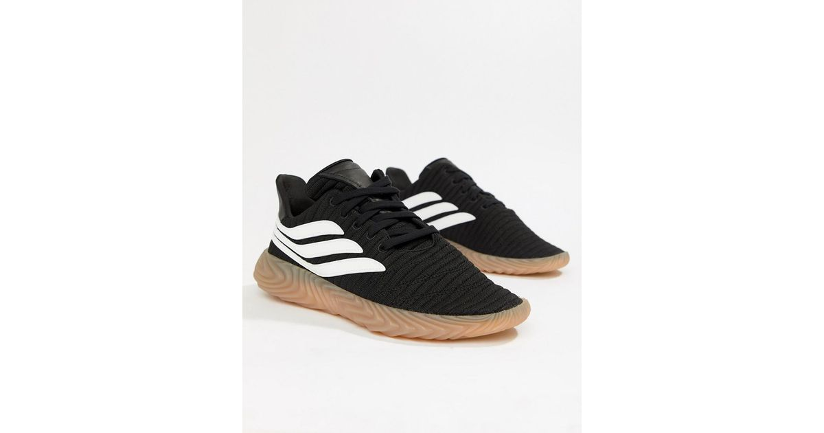 promo code 2784e ba6d2 adidas Originals Sobakov Sneakers In Black Aq1135 in Black for Men - Lyst