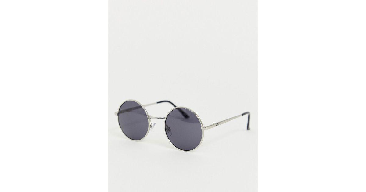 2e49c7a60f04 Black Vans Sunglasses Lyst Gundry Round Men For In qAAzx8fw