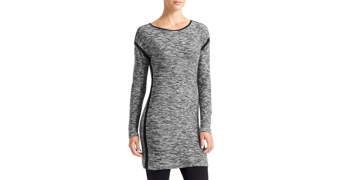 3b11c6b73db Lyst - Athleta Retreat Sweater Dress in Black