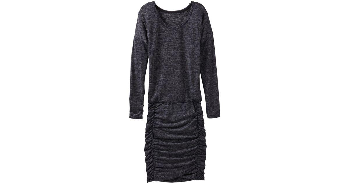 5ebffb75e2b0 Lyst - Athleta Tulip Long Sleeve Dress in Black