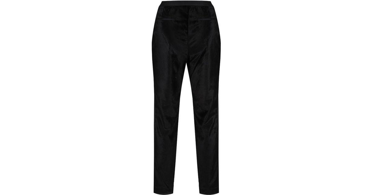 e75b2a85398156 Lyst - Ted Baker Women s Kairaat Velvet Suit Trousers in Black