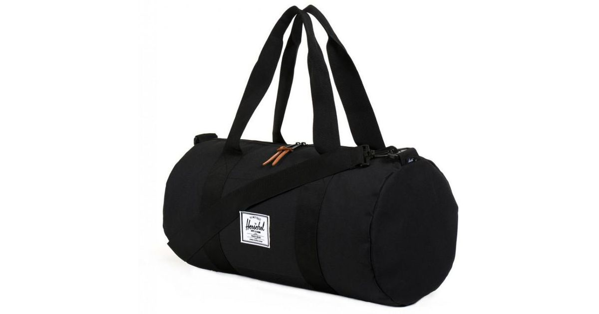 f87d75d03117 Herschel Supply Co. Hershel Sutton Duffle Bag in Black for Men - Lyst