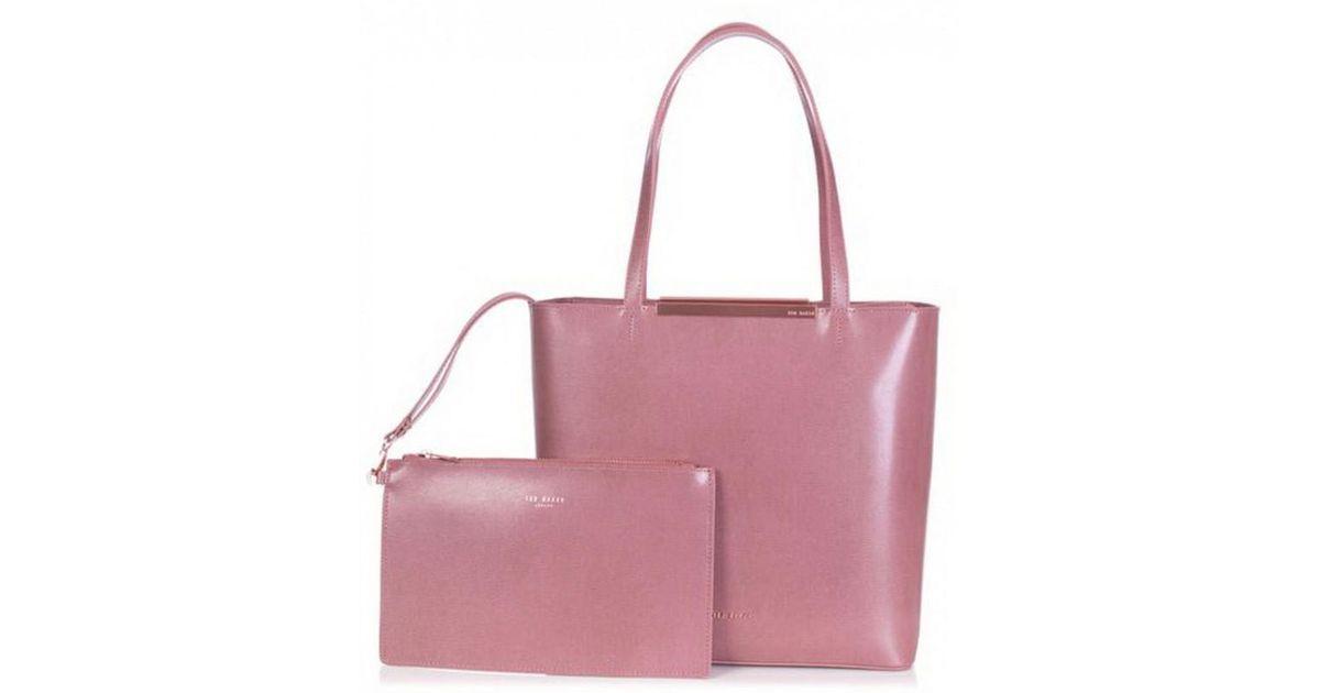 522d5818f Ted Baker Melisa Shopper in Pink - Lyst