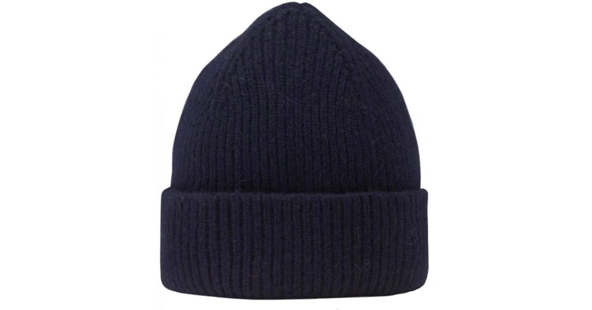 f469d6b142 Lyst - Le Bonnet Wool Beanie in Blue