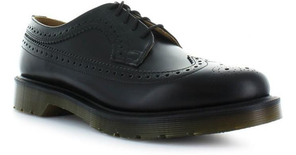 5740a955cc Dr. Martens Dr. Martens 3989 Brogue Black Men's Lace Up 41 in Black for Men  - Lyst