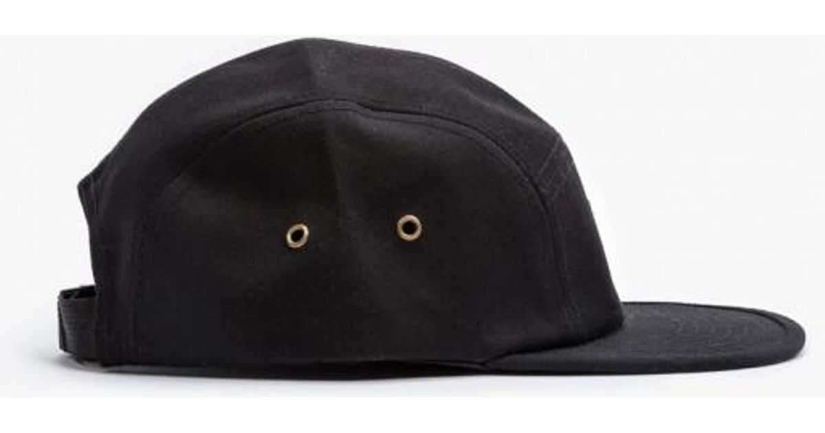 2129818f95cd7 Lyst - Obey Expedition 5 Panel Hat in Black for Men