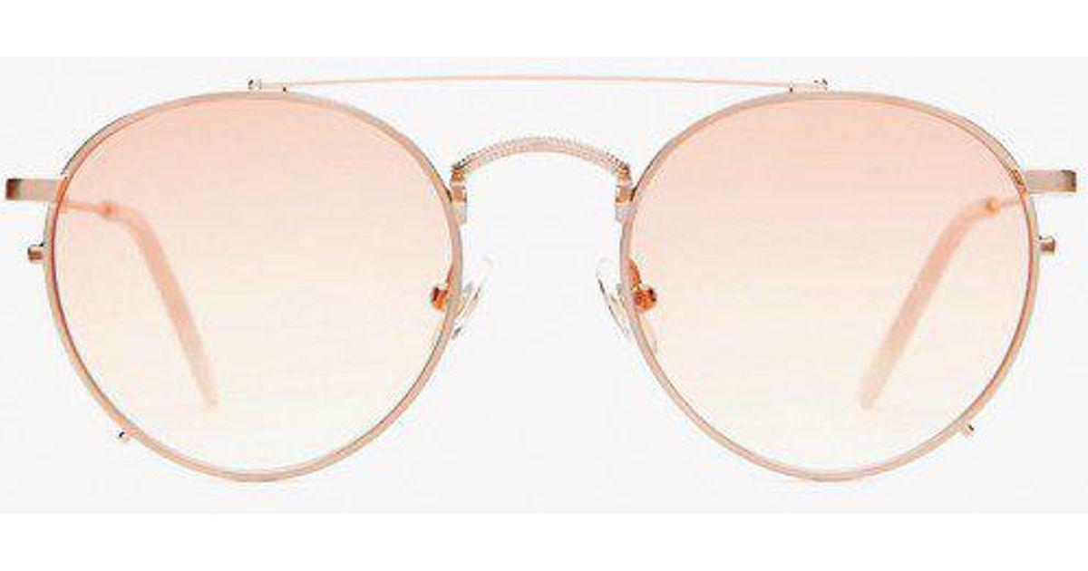 888ace68b50 Crap Eyewear The Tuff Safari Sunglasses in Pink - Lyst