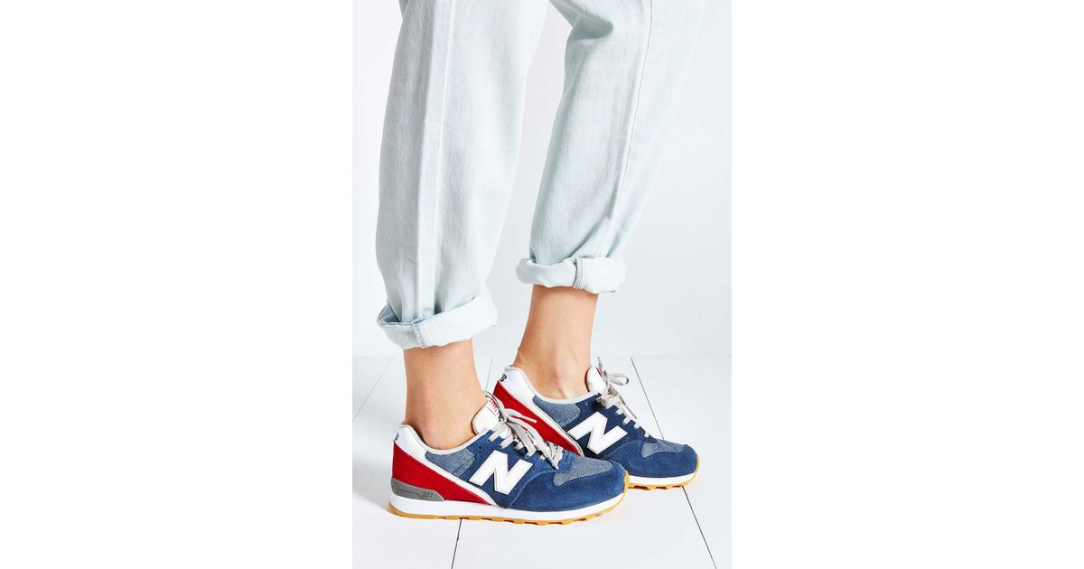 huge discount 9a525 a2c87 New Balance - Blue 696 Capsule Running Sneaker - Lyst