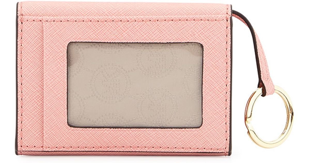 c81cf6100fa6 MICHAEL Michael Kors Jet Set Travel Coin Purse in Pink - Lyst