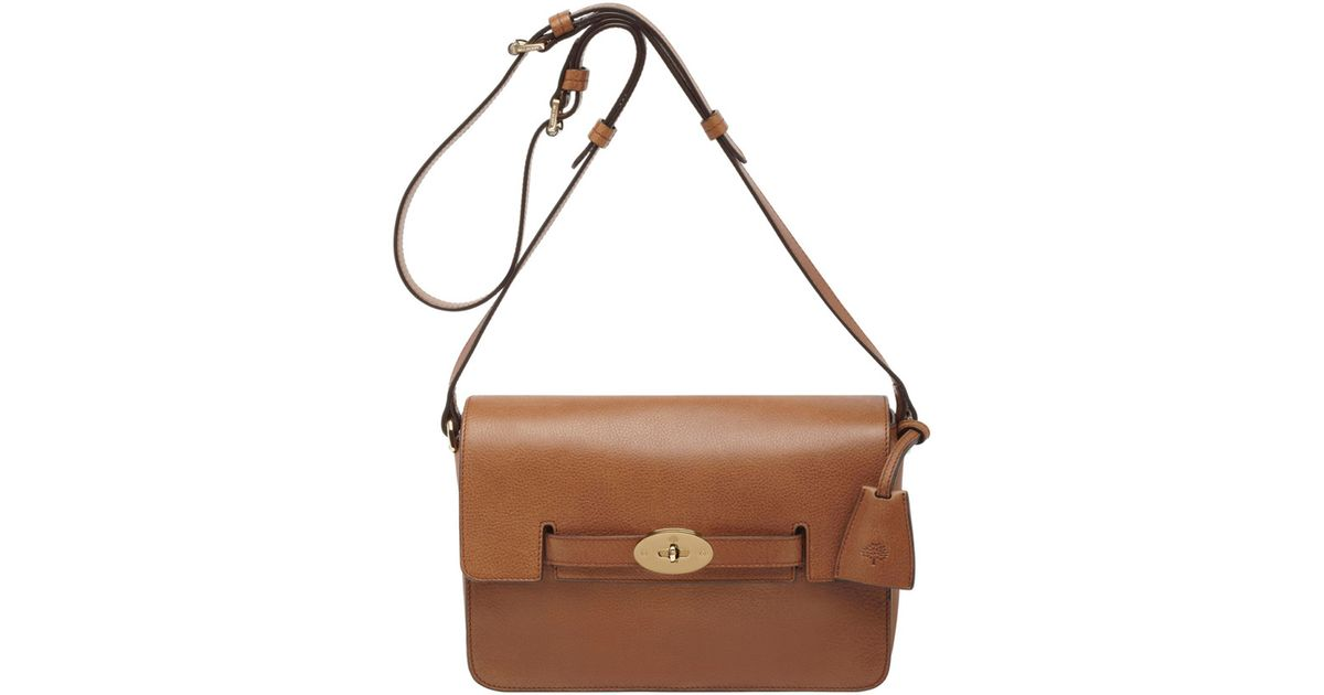 9296828232 ... aliexpress lyst mulberry oak bayswater shoulder bag in brown fe1e6 0d91f