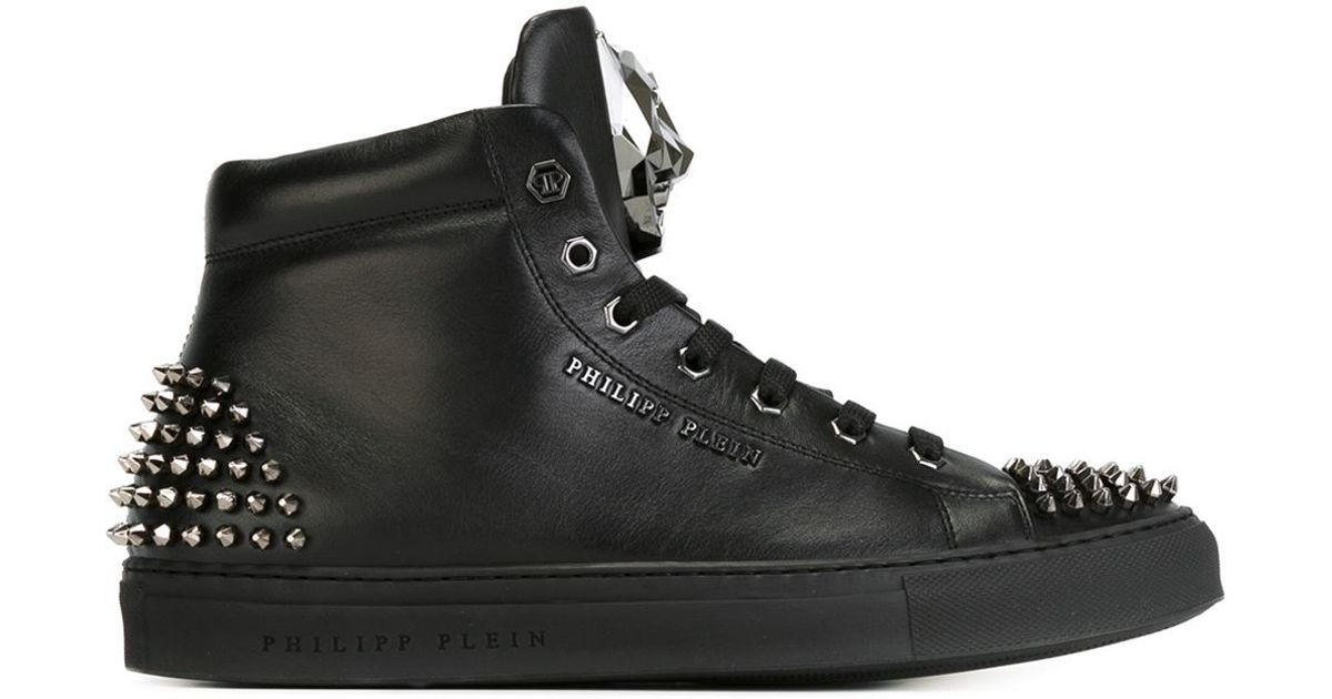 studded high top sneakers - Black Philipp Plein 6Kvuwoi6