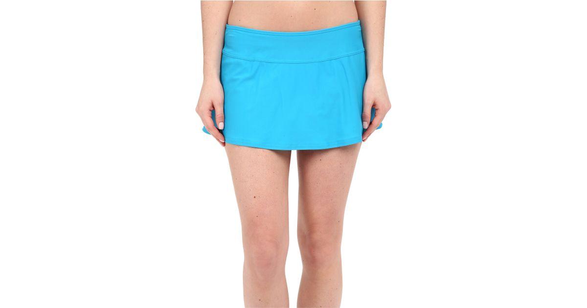 prana sakti swim skirt in blue save 45 lyst