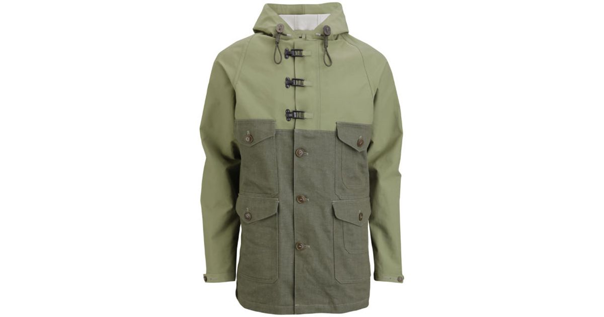 13e0855e853e Nigel Cabourn Mens Cameraman Classic Jacket in Green for Men - Lyst