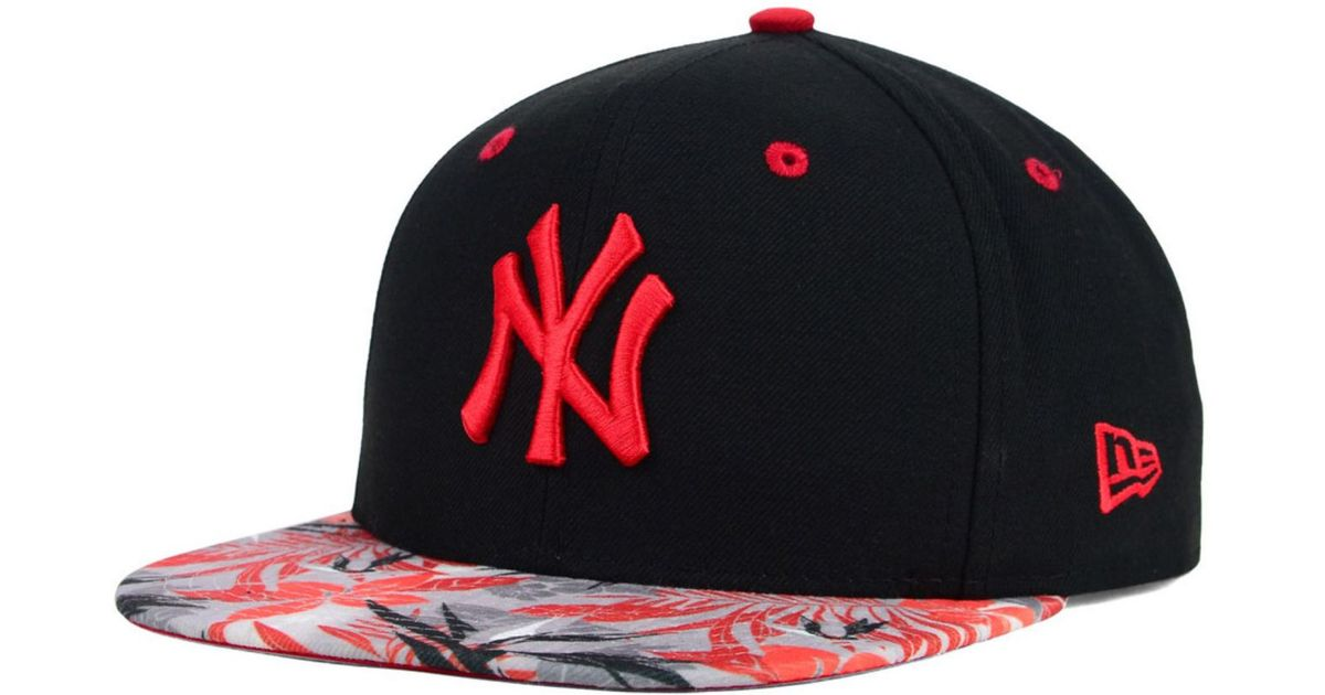 d26d0c8f013 ... norway lyst ktz new york yankees floral viz 9fifty snapback cap in  black for men 9a56f