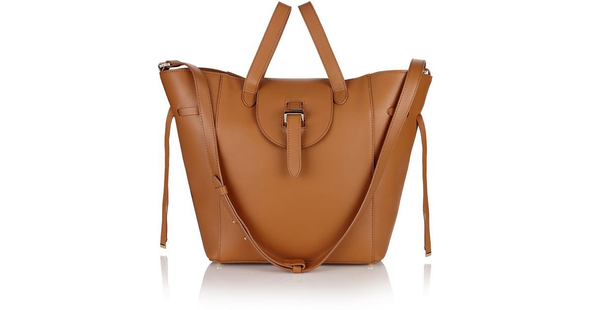 3566b82f686f Lyst - Meli Melo Fleming Medium Tan in Brown