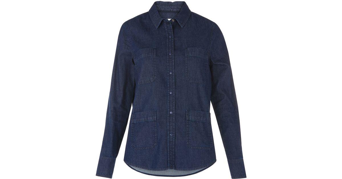 denim shirt pockets - photo #13