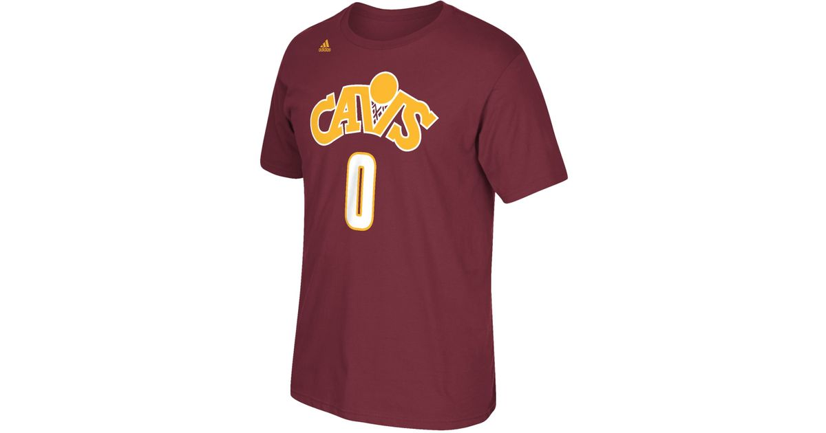 c398c4e4f ... discount lyst adidas mens kevin love cleveland cavaliers player t shirt  in purple for men 41afd