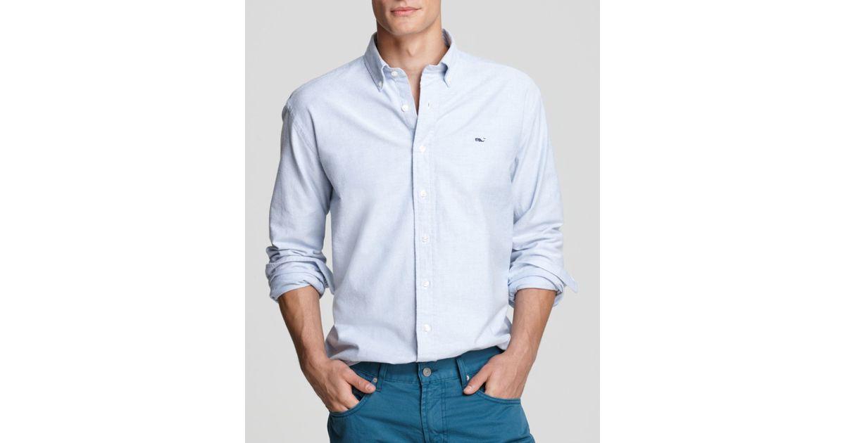 Vineyard vines oxford whale button down shirt classic for Men s oxford button down shirts