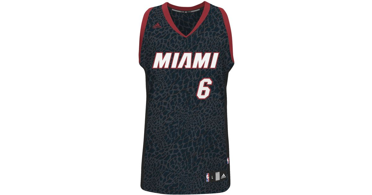 bf3f7ef252d Lyst - adidas Men's Miami Heat Lebron James Crazy Light Jersey in Blue for  Men