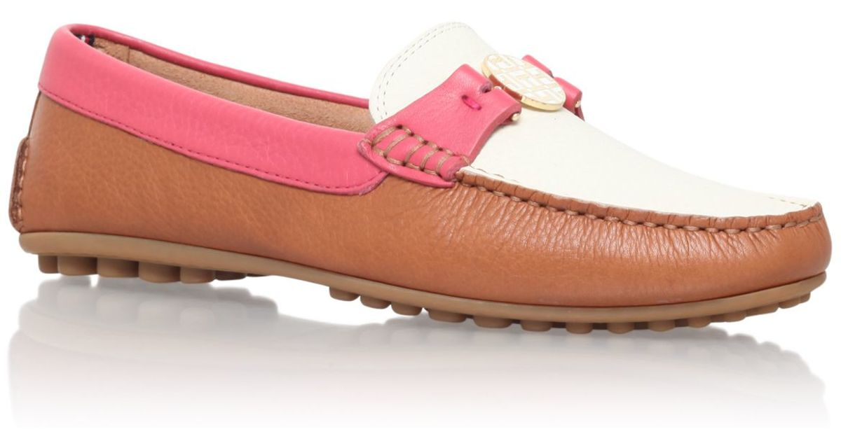 249236dab33cae Tommy Hilfiger Kendall 12a Slip On Loafers in Brown - Lyst