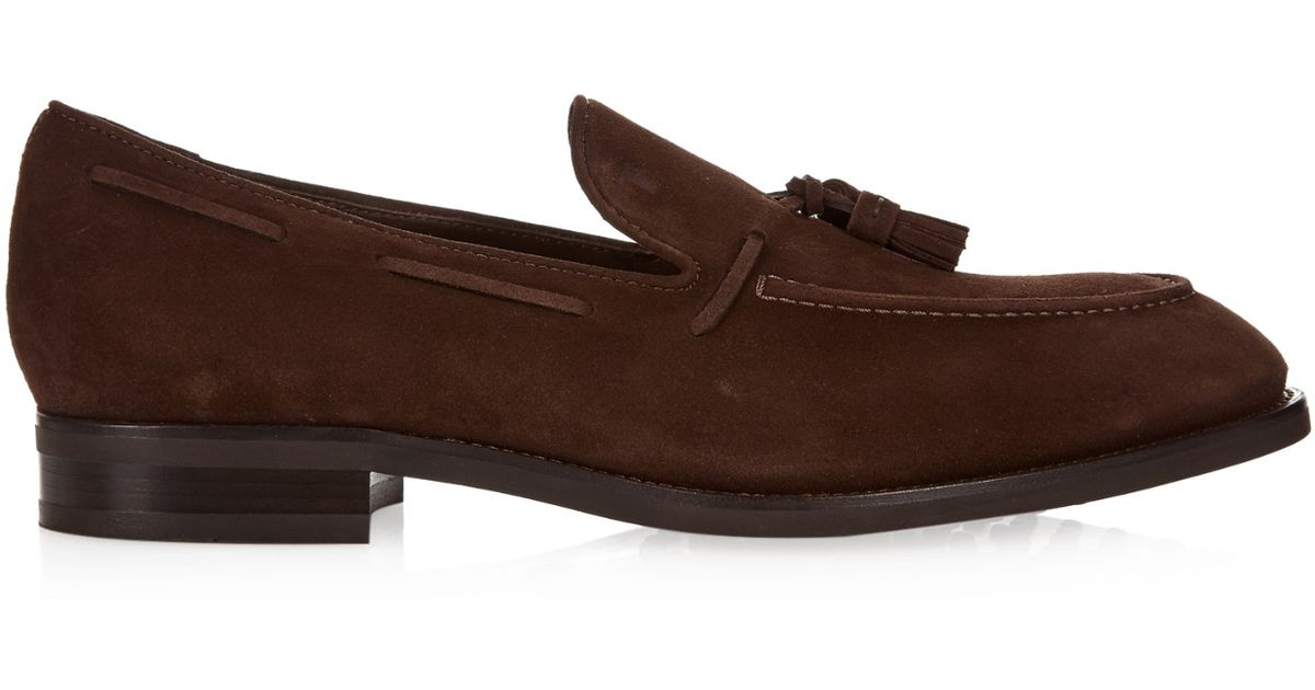 Tasselled suede loafers Tod's Sale Order yTNwIKf9zC