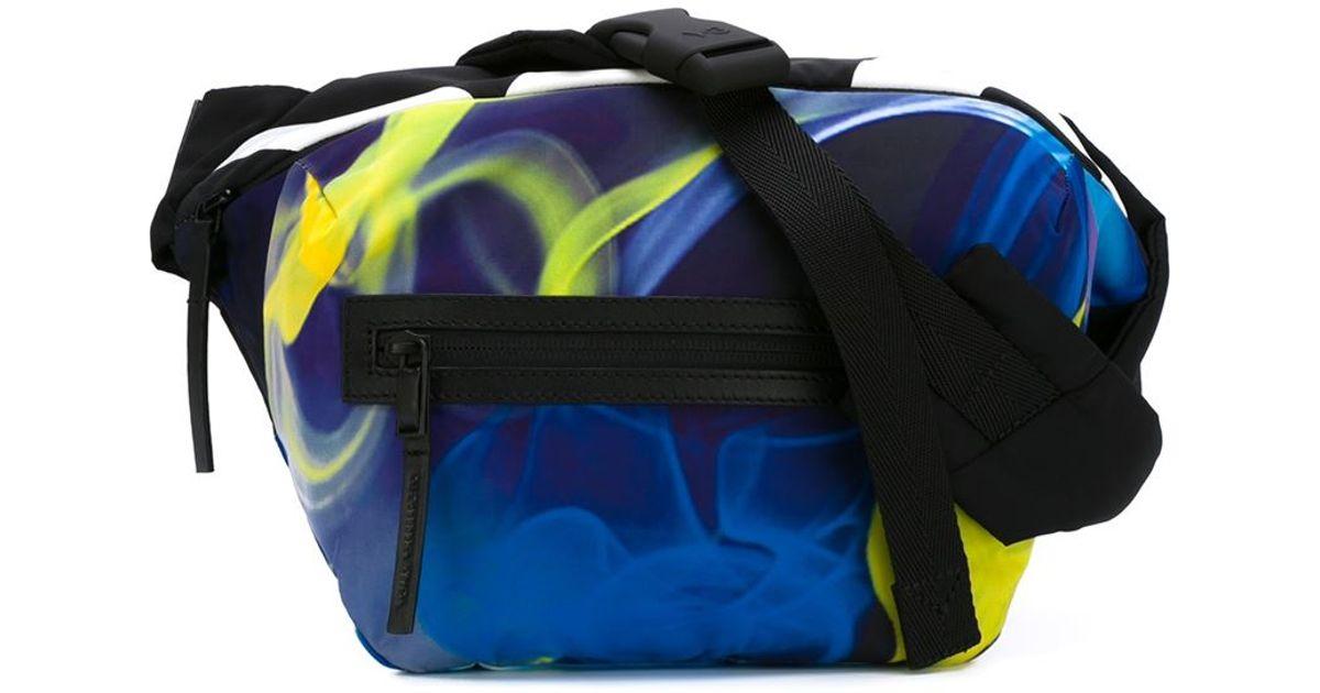 b95eb0fa22 Y-3  qasa  Bum Bag in Blue - Lyst