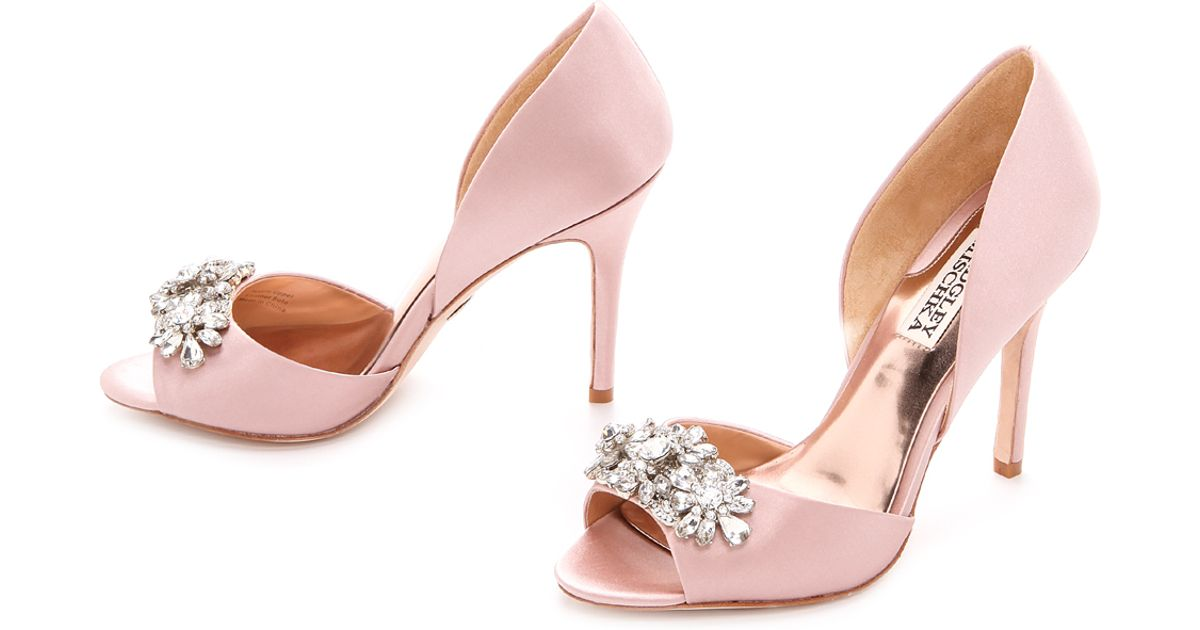 Lyst - Badgley mischka Giana D'Orsay Pumps - Light Blue in Pink