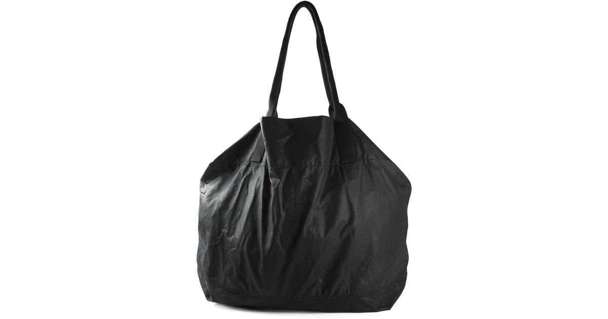 DRKSHDW by Rick Owens Oversized Shoulder Bag in Black - Lyst 01ce50b987866