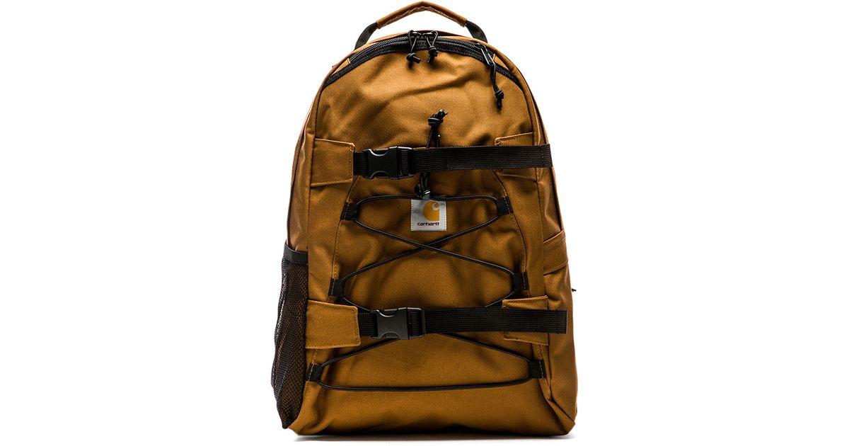 53098f286b Carhartt WIP Kickflip Backpack in Orange for Men - Lyst