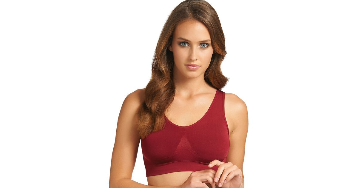 9badbe84b3 Wacoal Bsmooth Wire Free Bra With Removable Pads in Red - Lyst