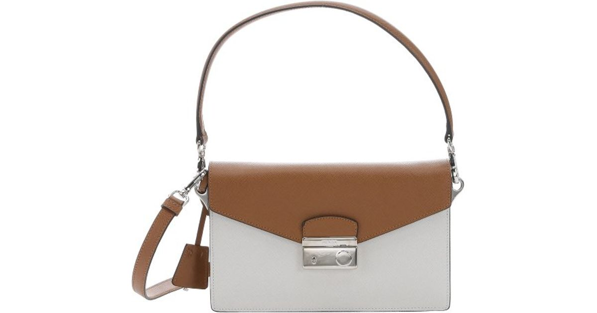 prada satchel black - Prada Caramel Saffiano Leather Convertible Shoulder Bag in Brown ...