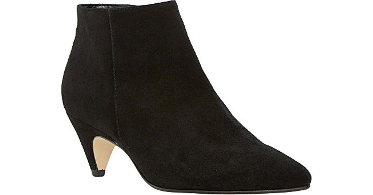 c34219df9116 Dune Ophelia Suede Ankle Boots, Women's, Size: Eur 38 / 5 Uk Women, Black- suede in Black - Lyst