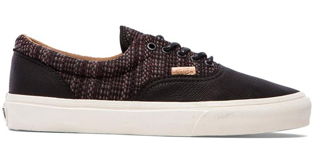 f4c4d7f734 Lyst - Vans California Era Ca Italian Weave in Black for Men