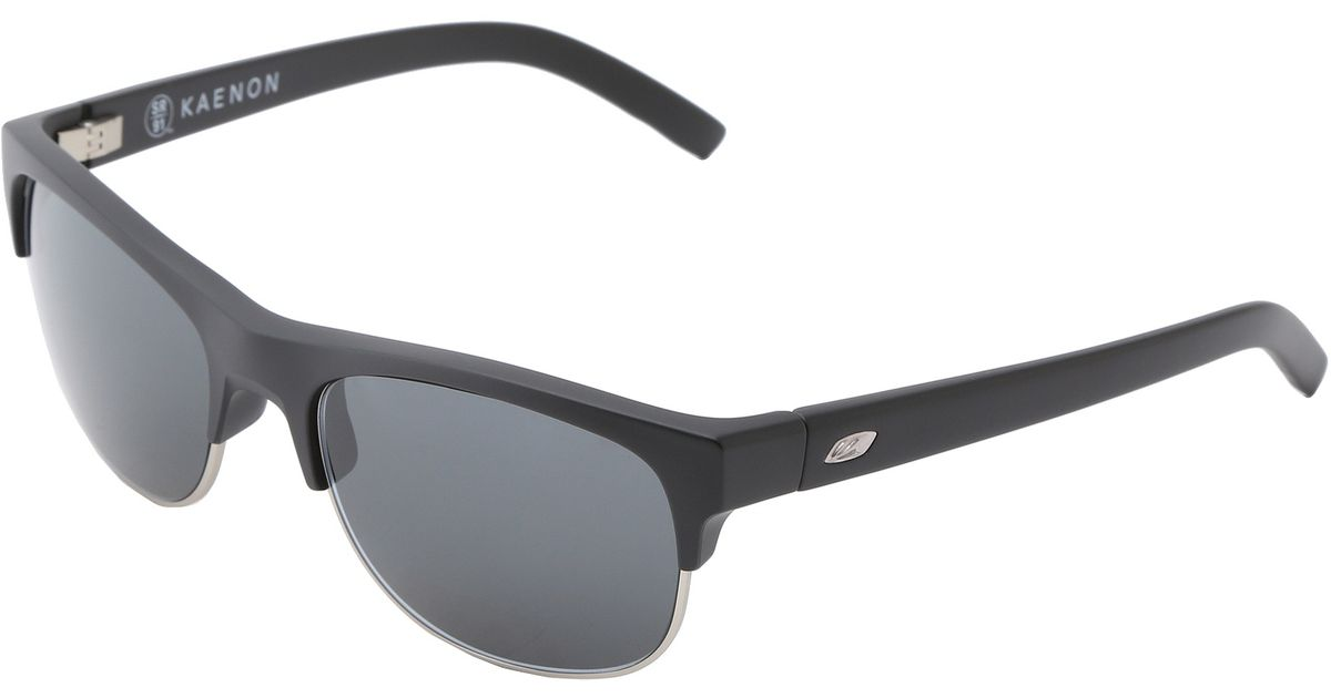 9059ba479f9 Lyst - Kaenon Bluesmaster Sr91 (polarized) in Black for Men