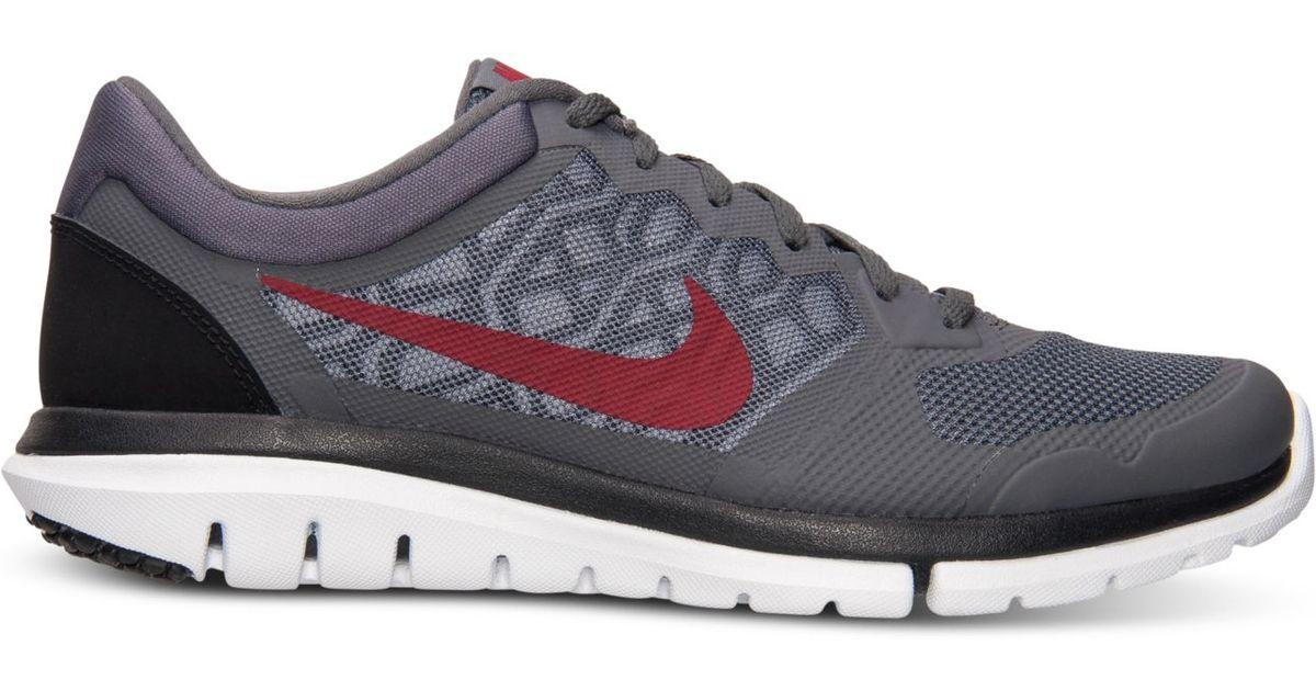 e7dab1aaf798 Lyst - Nike Men s Flex Run 2015 Running Sneakers From Finish Line in Gray  for Men