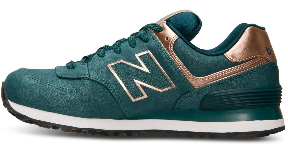 new balance 574 precious metals rose gold