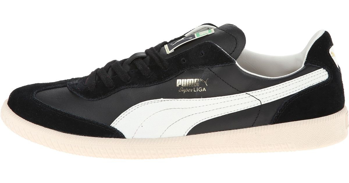 ... Lyst - Puma Super Liga Og Retro in Black for Men ... 8bbfb6cce