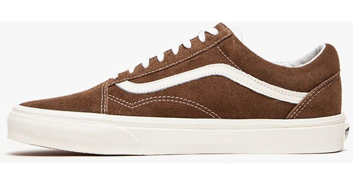 vans old skool brown