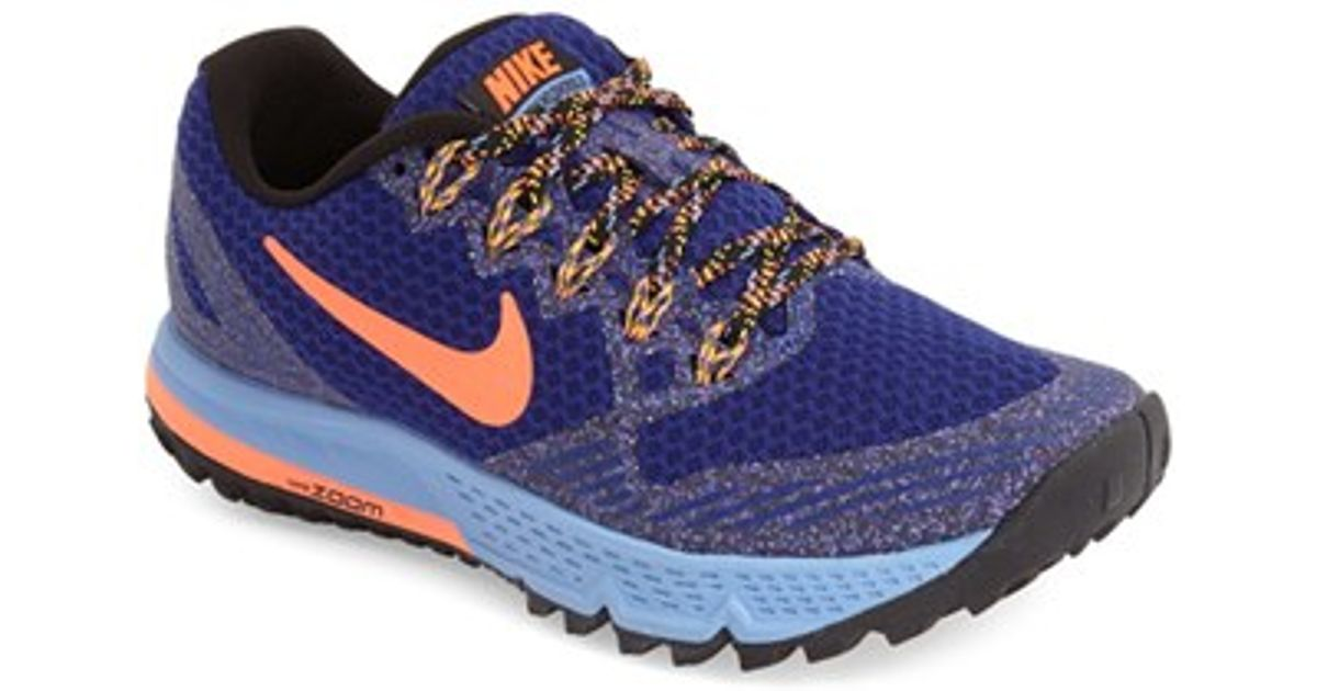 90d5c63996599 Lyst - Nike  air Zoom Wildhorse 3  Trail Running Shoe in Blue